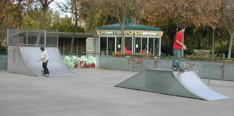 Park Soufra (Photo du blog SkateparkParis)