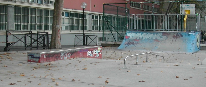 Skatepark Jemmapes (Photo Blog Skatepark de Paris)